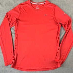 ❤️ Nike Running - Miler Long Sleeve Dri-Fit Shirt